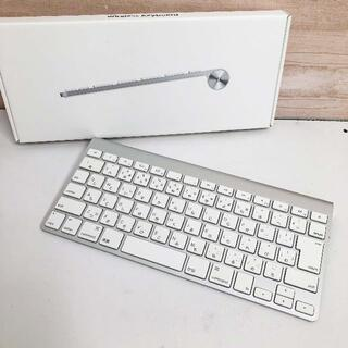 アップル(Apple)の中古☆Apple Wireless Keyboard 日本語 MC184J/B(PC周辺機器)