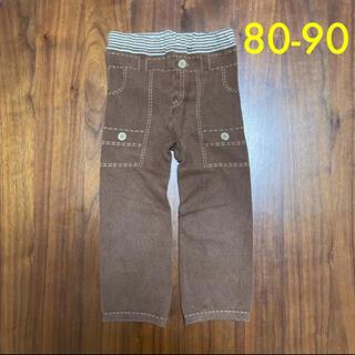 ムジルシリョウヒン(MUJI (無印良品))の無印良品 プリントレギンス 80-90(パンツ)