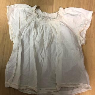 ピュアルセシン(pual ce cin)のpual ce cin トップス ブラウス ホワイト(シャツ/ブラウス(半袖/袖なし))