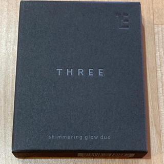 THREE - 【新品未使用・未開封】THREE シマリング グローデュオ #01