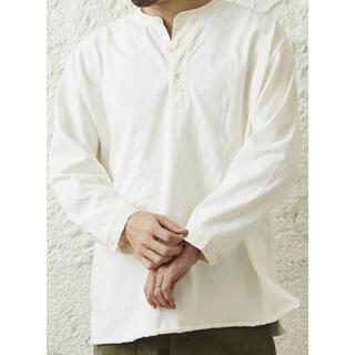 ジャーナルスタンダード(JOURNAL STANDARD)の即完売 ARMY TWILL × relume ミリタリー スリーピング ヘンリ(Tシャツ/カットソー(七分/長袖))