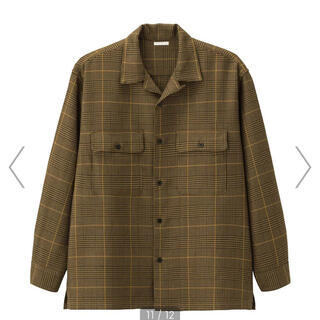 ジーユー(GU)のオープンカラーシャツジャケット(その他)