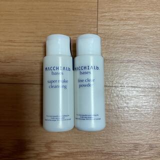 マキアレイベル(Macchia Label)のマキアレイベル クレンジング35g  洗顔料13g(クレンジング/メイク落とし)