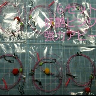 季節限定 本格カレイ針13号2本針×6セット(釣り糸/ライン)