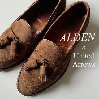 Alden - ALDEN オールデン × ユナイテッドアローズ スエード タッセル スリッポン