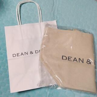 ディーンアンドデルーカ(DEAN & DELUCA)の☆紙袋付き☆ Sサイズ DEAN&DELUCAトートバッグ ナチュラル(その他)