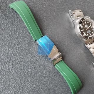 ロレックス(ROLEX)のロレックス サブマリーナ 交換用 ラバーベルト バックル、工具、バネ付き付き(ラバーベルト)
