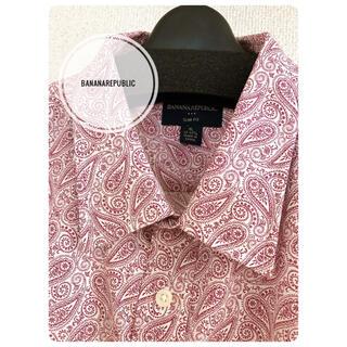 バナナリパブリック(Banana Republic)のBANANA REPUBLIC ボタン長袖シャツ XL新品(シャツ)