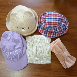 ベビードール(BABYDOLL)の赤ちゃん帽子・ヘアバンド5点セット(帽子)