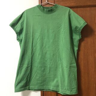 コーエン(coen)のコーエン XLサイズ 緑 今季 リピT(Tシャツ(半袖/袖なし))