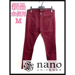 ナノユニバース(nano・universe)の新品未使用♡ナノユニバース スキニーパンツ メンズ M ボトムス スキニー(デニム/ジーンズ)