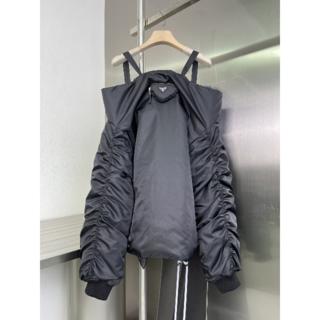 プラダ(PRADA)の21AW【PRADA】プラダ パッド入りRe-Nylonジャケット(テーラードジャケット)