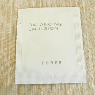 THREE - 【新品】THREE バランシング エマルジョン ×1