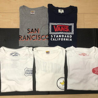 スタンダードカリフォルニア(STANDARD CALIFORNIA)のスタンダードカリフォルニアT シャツ セット販売(Tシャツ/カットソー(半袖/袖なし))
