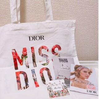ディオール(Dior)の《ノベルティー》Miss Diorトートバック & オードゥパルファン(トートバッグ)