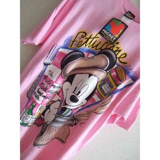 ミッキーマウス(ミッキーマウス)のUSA製 MICKEY MOUSE ミッキーマウス ビンテージ Tシャツ 90s(Tシャツ/カットソー(半袖/袖なし))