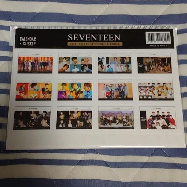SEVENTEEN(セブンティーン)のSEVENTEEN 卓上カレンダー エンタメ/ホビーの雑誌(アート/エンタメ/ホビー)の商品写真