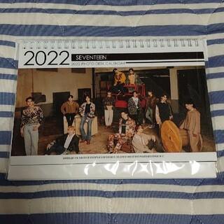 セブンティーン(SEVENTEEN)のSEVENTEEN 卓上カレンダー(アート/エンタメ/ホビー)