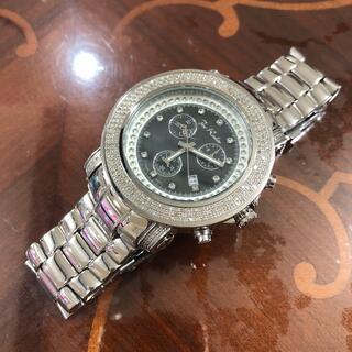 アヴァランチ(AVALANCHE)のジョーロデオ  クロノグラフ ダイヤモンドウォッチ 美品(腕時計(アナログ))