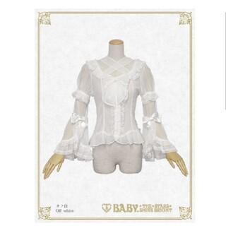 ベイビーザスターズシャインブライト(BABY,THE STARS SHINE BRIGHT)のBABY シフォンプリンセスドレスブラウス(シャツ/ブラウス(長袖/七分))