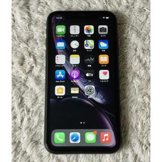 アップル(Apple)の田中様専用 iPhone XR Black 256 GB SIMフリー ジャンク(スマートフォン本体)