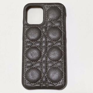 新品 iPhone12ケース iPhone12Proケース レザー風 グレー(iPhoneケース)