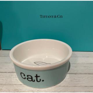 ティファニー(Tiffany & Co.)の【お値下げ中】ティファニー キャットボウル(猫)