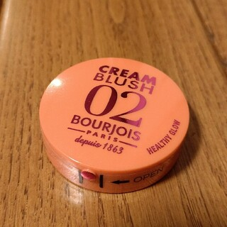 ブルジョワ(bourjois)のブルジョワ クリーム ブラッシュ 02 ヘルシーグロウ(チーク)