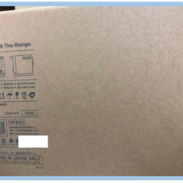 BALMUDA(バルミューダ)のバルミューダ BALMUDA K04A-WH ホワイト 白 Range レンジ スマホ/家電/カメラの調理家電(電子レンジ)の商品写真