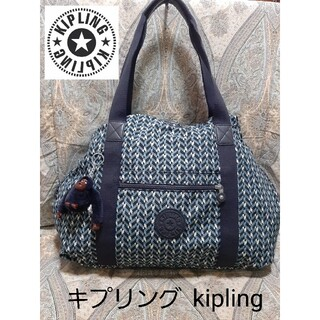 kipling - キプリング kipling ショルダーバッグ/ボストンバッグ/マスコット付き