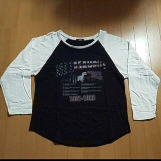 ロデオクラウンズワイドボウル(RODEO CROWNS WIDE BOWL)のRCWB  ロングTシャツ(Tシャツ/カットソー(七分/長袖))
