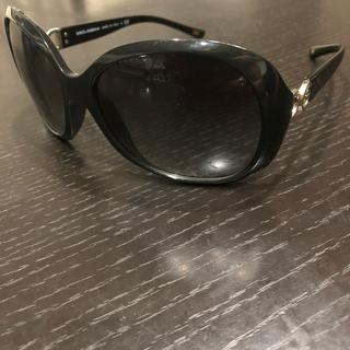 ディーアンドジー(D&G)の美品)ドルガバ サングラス レディース ブラック(サングラス/メガネ)