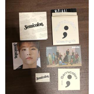 セブンティーン(SEVENTEEN)のSEVENTEEN セブチ アルバム Semicolon セミコロン  ホシ(K-POP/アジア)
