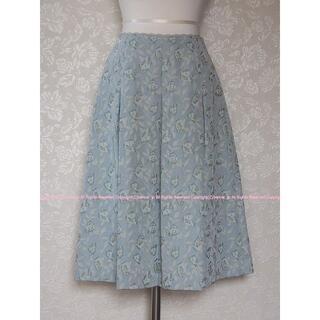 ミッシェルクラン(MICHEL KLEIN)のKLEIN D'OEIL ミッシェルクラン エレガントなふんわりスカート/38(ひざ丈スカート)