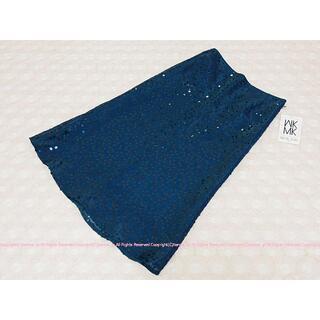 エムケーミッシェルクラン(MK MICHEL KLEIN)のMICHEL KLEIN ミッシェルクラン スパンコールのロングスカート/38(ロングスカート)