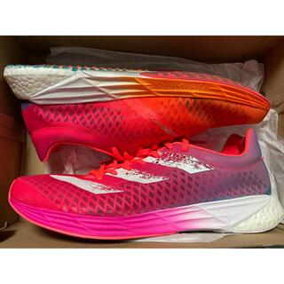アディダス(adidas)のアディダス アディゼロプロ M ピンク 27.5センチ(シューズ)