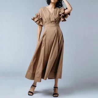 ダブルスタンダードクロージング(DOUBLE STANDARD CLOTHING)の極美品♡ ダブルスタンダード Sov.♡カシュクールワンピース(ロングワンピース/マキシワンピース)