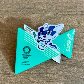 アシックス(asics)のASICS アシックス ピンバッジ ピンバッチ オリンピック パラリンピック(ノベルティグッズ)
