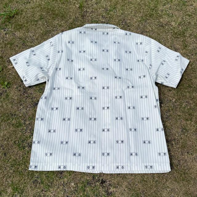 寅壱(トライチ)のBlackEyePatch×寅壱 HALF ZIP WORK SHIRT L メンズのトップス(シャツ)の商品写真