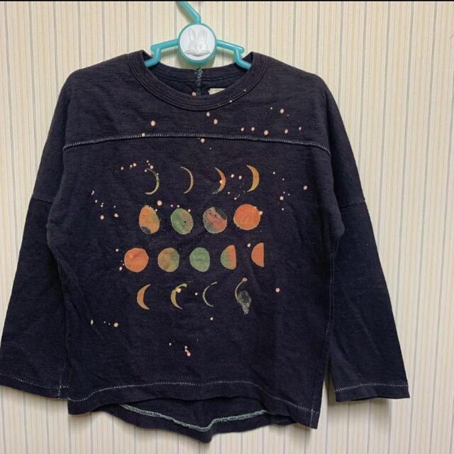 GO TO HOLLYWOOD(ゴートゥーハリウッド)の美品 ゴートゥーハリウッド 長袖 カットソー  Tシャツ 120 スミクロ キッズ/ベビー/マタニティのキッズ服男の子用(90cm~)(Tシャツ/カットソー)の商品写真