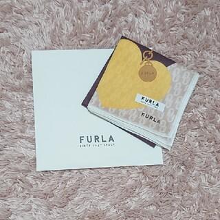 Furla - FURLA フルラ ハンカチ プリントハンカチ