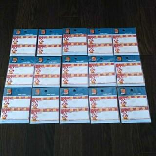 ディズニー(Disney)の定価3750円 ミッキー アイロン接着 ネームラベル 名前シール ディズニー(ネームタグ)