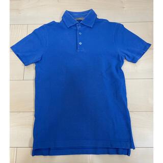 クルチアーニ(Cruciani)のCruciani クルチアーニ ポロシャツ メンズ 青 46(ポロシャツ)