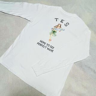 ロンハーマン(Ron Herman)のTES エンドレスサマー アロハガールプリントロンT L(Tシャツ/カットソー(七分/長袖))