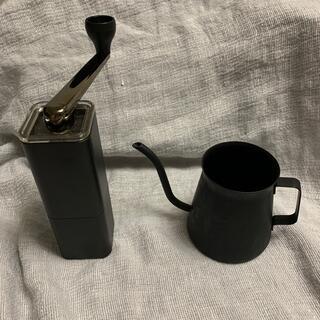 HARIO - HARIO ミニドリップケトル 粕谷モデル コーヒーミル