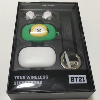 ボウダンショウネンダン(防弾少年団(BTS))のbt21 Bluetooth イヤホン(ヘッドフォン/イヤフォン)