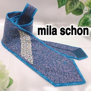 ミラショーン(mila schon)のmila schon ミラ ショーン ネクタイ 総柄 花柄(ネクタイ)