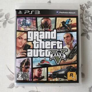 プレイステーション3(PlayStation3)の美品 PS3ソフト grand theft auto V グランドセフトオート5(家庭用ゲームソフト)