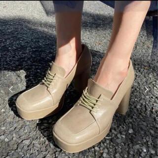 アメリヴィンテージ(Ameri VINTAGE)のameriヴィンテージ プラットフォームローファー(ローファー/革靴)