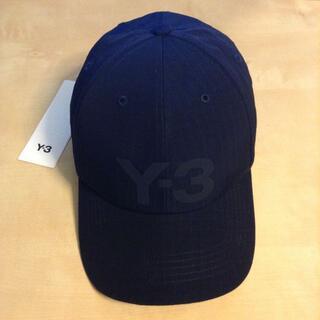 ワイスリー(Y-3)の新品 21ss Y-3 ロゴ キャップ adidas ダークネイビー 1063(キャップ)